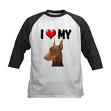 I Love My Doberman Tee
