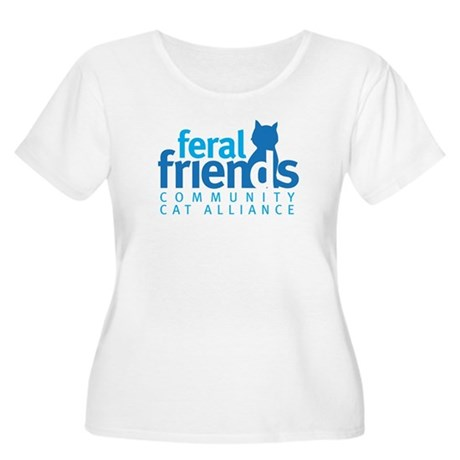 Feral Friends 2010 Logo Women's Plus Size Scoop Ne