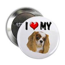 "I Love My Cavalier 2.25"" Button"
