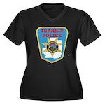 Metropolitan Transit Police Women's Plus Size V-Ne
