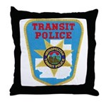 Metropolitan Transit Police Throw Pillow