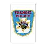 Metropolitan Transit Police Mini Poster Print