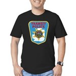 Metropolitan Transit Police Men's Fitted T-Shirt (