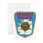 Metropolitan Transit Police Greeting Cards (Pk of