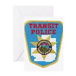 Metropolitan Transit Police Greeting Card