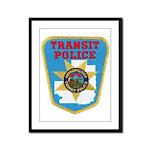 Metropolitan Transit Police Framed Panel Print