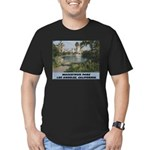 Macarthur Park Men's Fitted T-Shirt (dark)