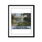 Macarthur Park Framed Panel Print