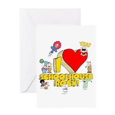I Heart Schoolhouse Rock! Greeting Card