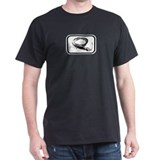 Whip Playwear Black T-Shirt