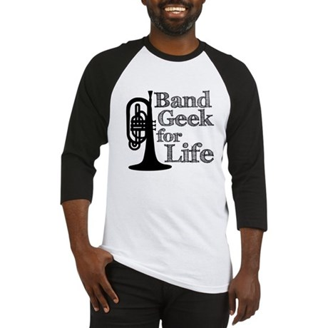 Band Geek for Life Baseball Jersey