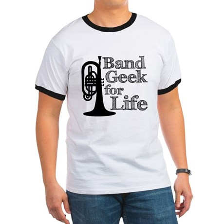Band Geek for Life Ringer T