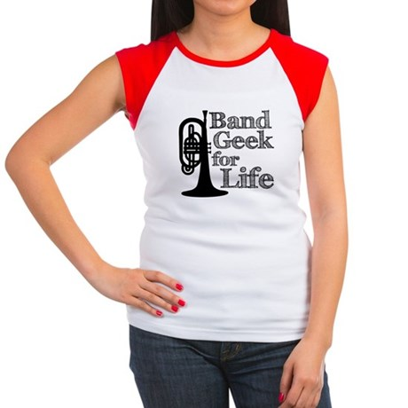 Band Geek for Life Women's Cap Sleeve T-Shirt