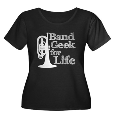 Band Geek for Life Women's Plus Size Scoop Neck Da