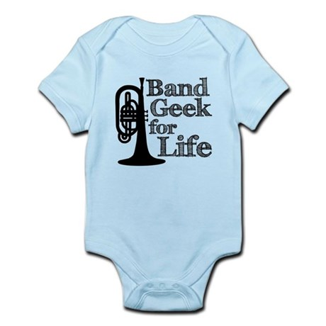 Band Geek for Life Infant Bodysuit