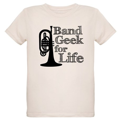 Band Geek for Life Organic Kids T-Shirt