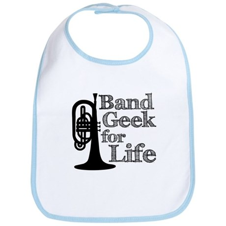 Band Geek for Life Bib
