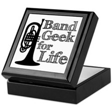 Band Geek for Life Keepsake Box