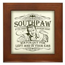 Southpaw (in your ear) Framed Tile