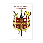 Mediaeval Battle Association Sticker