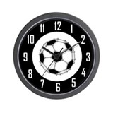 Buckyball Soccer Wall Clock