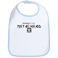 Mommy's Lil Metalhead Bib