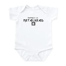 Mommy's Lil Metalhead Infant Creeper