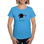 """PEACE"" WOMEN'S DARK TEE"