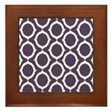 Chain Link Framed Tile