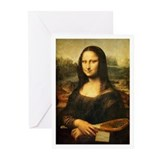 Mona Lisa Smile - Tennis Greeting Cards (Pk of 10)