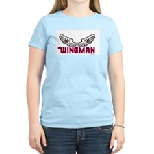 WINGMAN Women's Pink T-Shirt