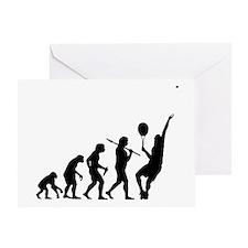 Tennis Evolution - Greeting Card