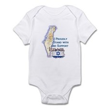 I Stand With Israel - Infant Bodysuit