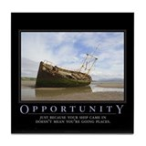 Opportunity Tile Coaster