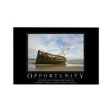 Opportunity Rectangle Magnet (100 pack)