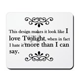 'Anti-Twilight' Mousepad