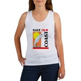 SAVE OUR COAST Women's Tank Top