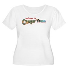 Welcome to Cougar Town Women's Plus Size T-Shirt