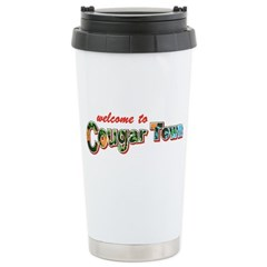 Welcome to Cougar Town Ceramic Travel Mug