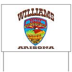 Williams Police Yard Sign
