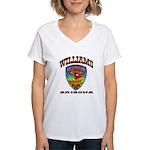 Williams Police Women's V-Neck T-Shirt
