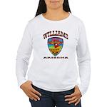 Williams Police Women's Long Sleeve T-Shirt