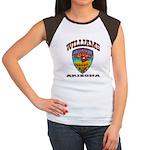 Williams Police Women's Cap Sleeve T-Shirt