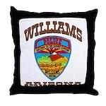 Williams Police Throw Pillow