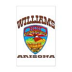 Williams Police Mini Poster Print