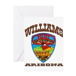 Williams Police Greeting Card