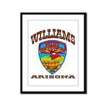 Williams Police Framed Panel Print