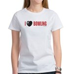 Bowling Love 2 Women's T-Shirt