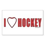 Hockey Love 2 Sticker (Rectangle 10 pk)