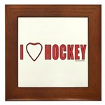 Hockey Love 2 Framed Tile